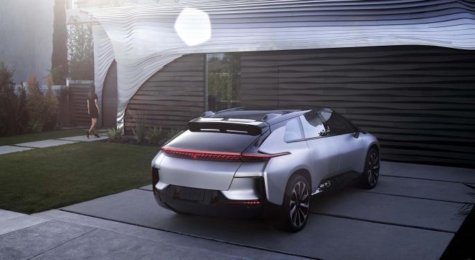 EV Startup Faraday Future Considers SPAC Route To Go Public: Report