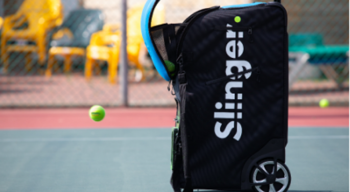 Slinger Bag Has Created A Product That Allows Tennis Players To Practice Anytime, Anywhere