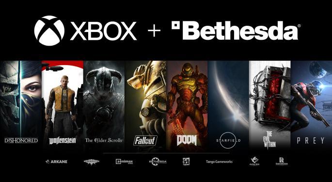 Microsoft Buys ZeniMax Media, Game Publisher Bethesda Softworks