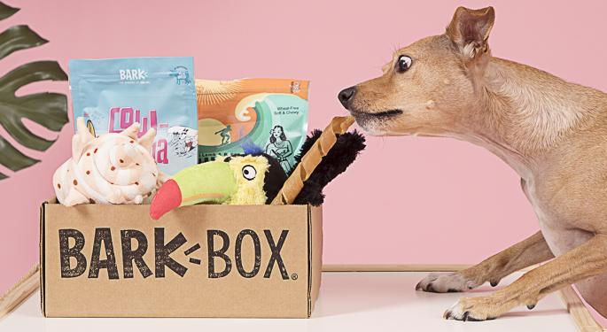BarkBox Owner BARK Bringing Dog-Focused Sales Platform Public Via SPAC