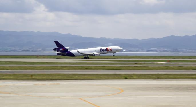 FedEx Trades Higher On Q4 Earnings Beat