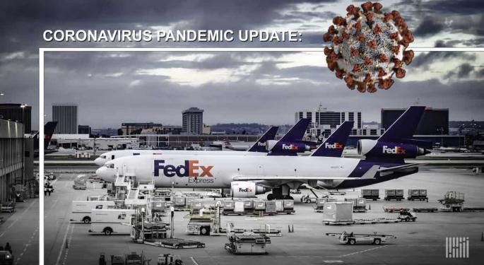 Courier Giants Help U.S. Operate Pop-Up Virus Test Centers