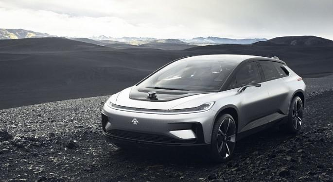 EV Maker Faraday Future Looks To Raise $400M Through Merger With SPAC Company