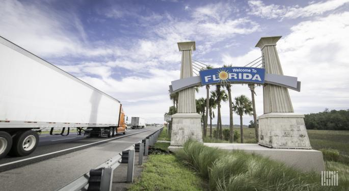 Florida's Two Interstate Checkpoints 'Running Smoothly' — Florida Trucking Association