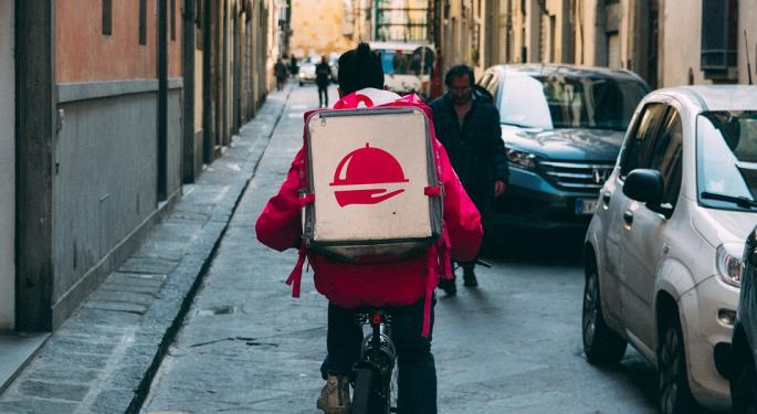 At Foodora, A New Twist In Battle Over Contract Labor