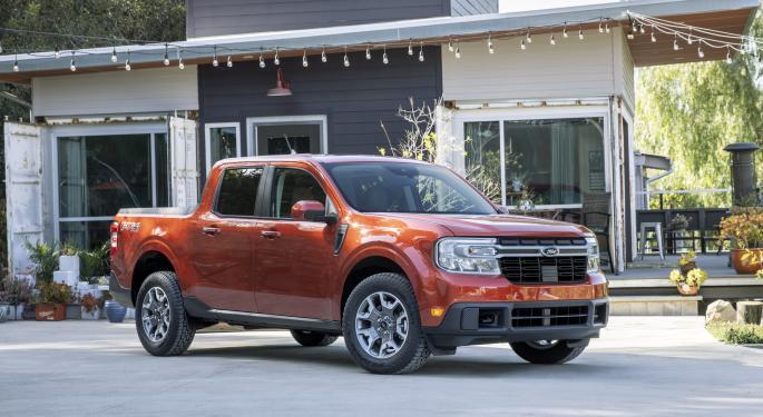 Ford, ¿posible versión eléctrica de la nueva Maverick?