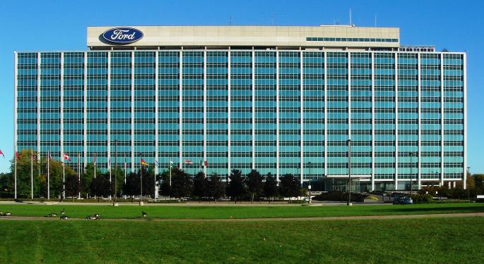 Buckingham Lowers Ford Price Target Ahead Of Q3 Report