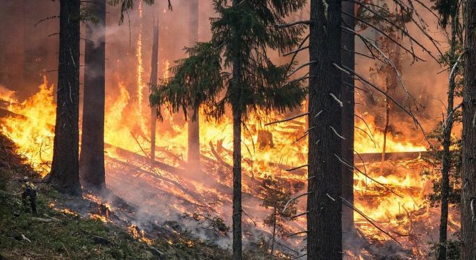 Analyst Assesses PG&E's Zogg Fire Liability Risk