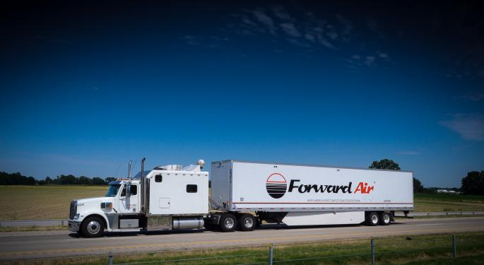 News Alert: Forward Air's Systems Coming Back Online
