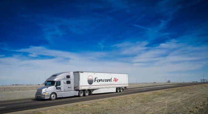 Forward Air Stock Pops 6.45% On Earnings Beat