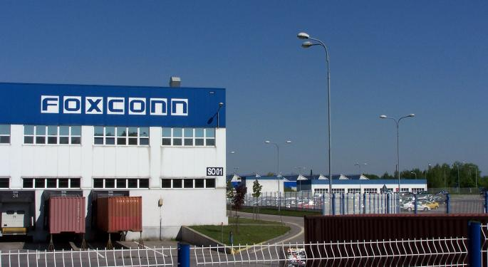 Apple Supplier Foxconn Looks To Invest $200M In Chinese EV Startup Byton: Report