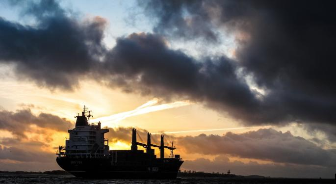 Crude-Tanker Stocks Plunge As Rates Hit Record Highs