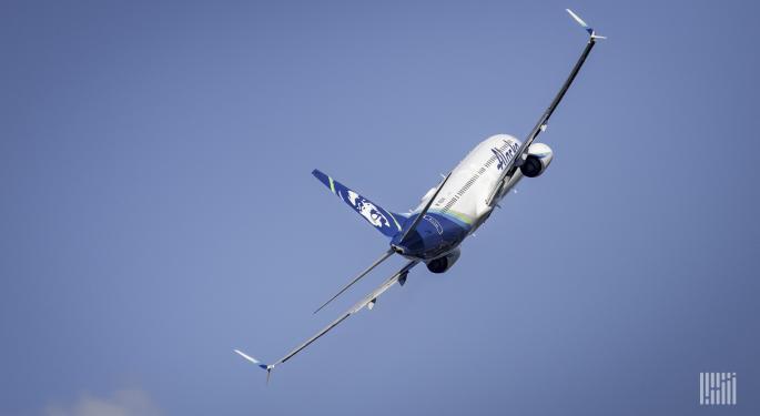 Alaska Air Warns Of Increased Cash Burn In January