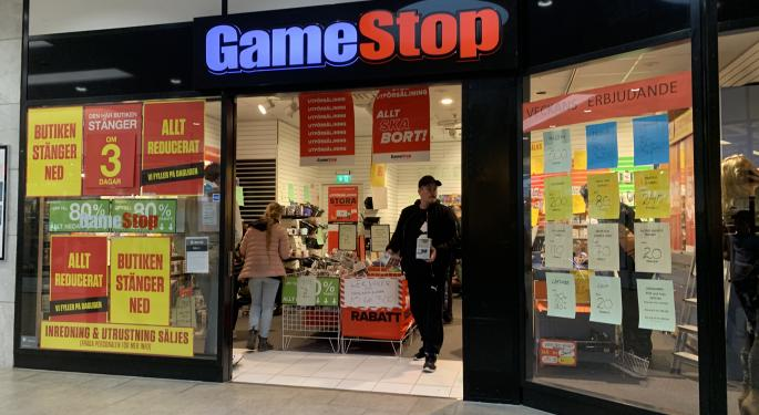 Why GameStop Stock Is Trading Lower Today