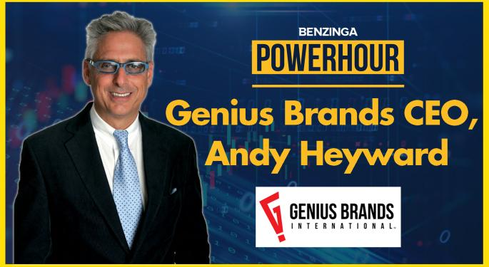 EXCLUSIVE: Genius Brands CEO Andy Heyward Talks Kartoon Channel Plans And More On 'Power Hour'