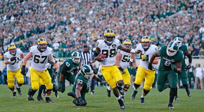 Michigan Vs. Michigan State: The Trademark Battle