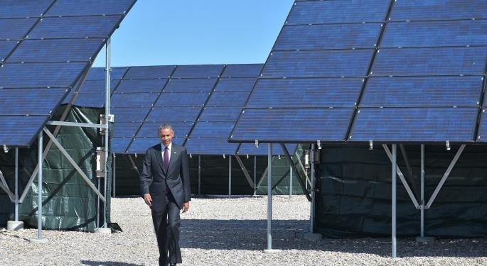 Why Are Solar Stocks Down After Obama's Carbon Announcement?