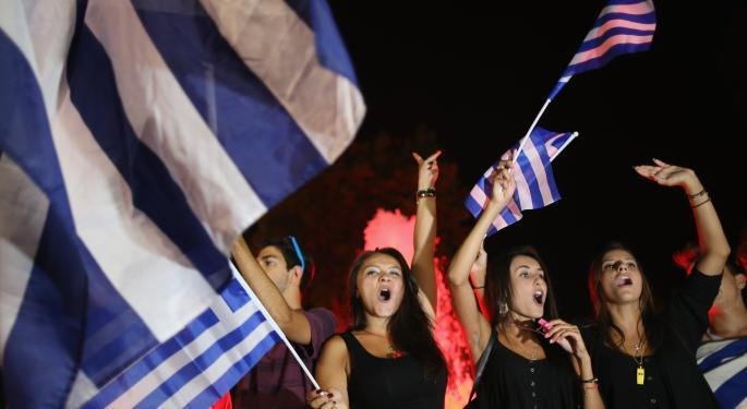 Greeks Vote 'No' To Bailout, Grexit Risk Might Have Just Increased