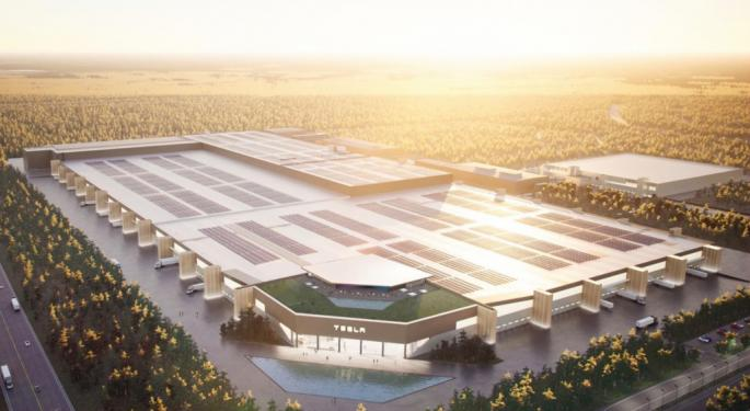 Tesla's Gigafactory Berlin Will Have 600 Charge-Ready Parking Spots