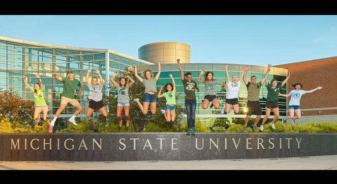 MSU Celebrates 'Giving Tuesday' With 4th Annual 'Give Green' Day