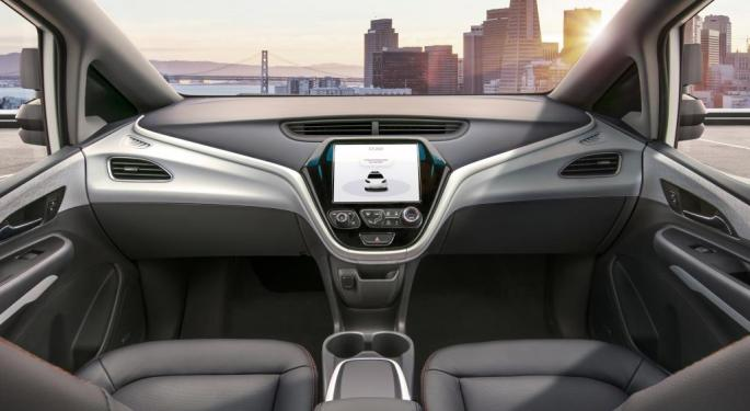 GM's Cruise, Honda Team Up On Autonomous Vehicle Development