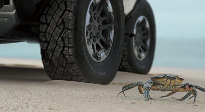 General Motors Stock Soars Ahead Of Hummer EV Reveal