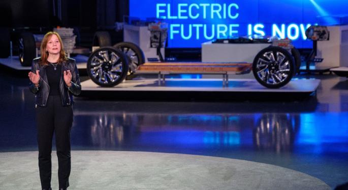 GM trabaja en una tercera pickup eléctrica full-size