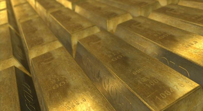 Gold Is Tumbling On Expectations Of Rising Interest Rates, Lowest Levels Since June