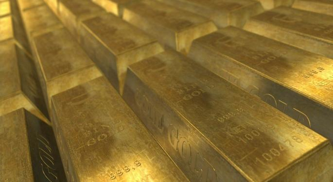 Here's How Much Investing $1,000 In The GLD Gold Fund In 2010 Would Be Worth Today
