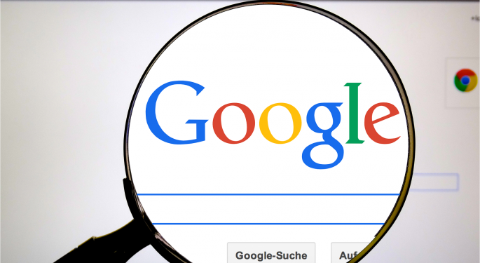 Report: Google's Alphabet Explores Joint Venture Opportunity With Saudi Aramco