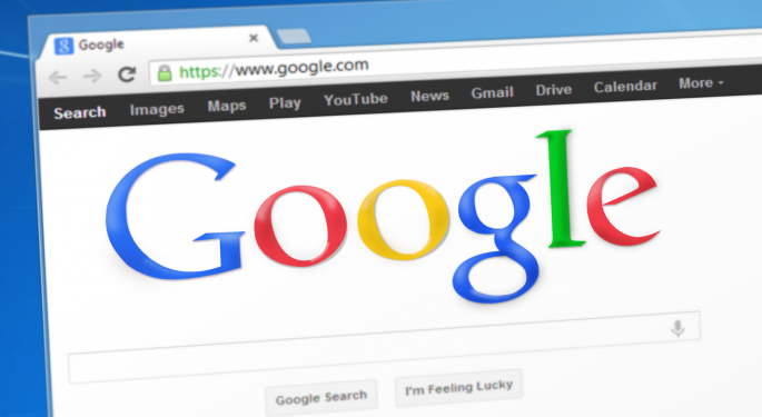 Here's How Much Investing $100 In Google Stock Back In 2010 Would Be Worth Today
