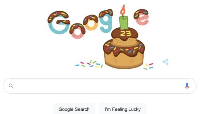 Así celebra hoy Google sus 23 años de historia