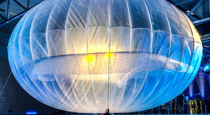 Alphabet Pops Air Out Of Internet Balloon Project