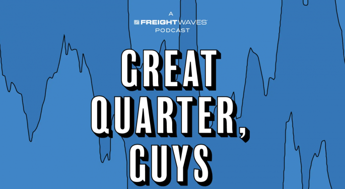 Can Forward Air Be Turned Around? — Great Quarter, Guys