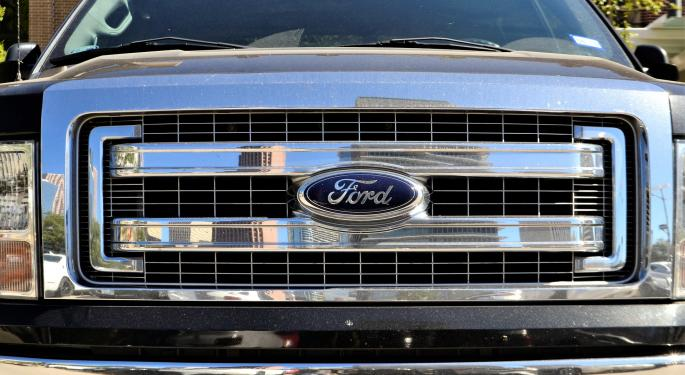 Ford's Stock Races Higher After Q3 Beat, Growth In China And Ford Credit