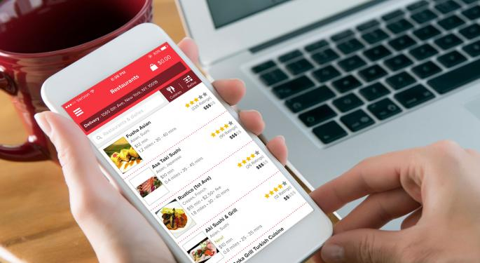GrubHub's Brand Is Becoming 'Second Nature' For Food Delivery, Canaccord Says