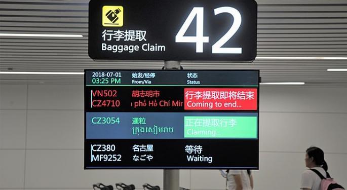 China's Guangzhou Baiyun International Bypasses Atlanta's Hartsfield-Jackson As World's Busiest Airport
