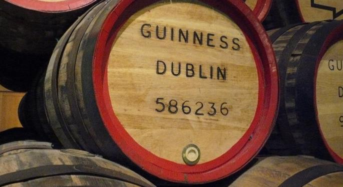 This Day In Market History: The Guinness IPO