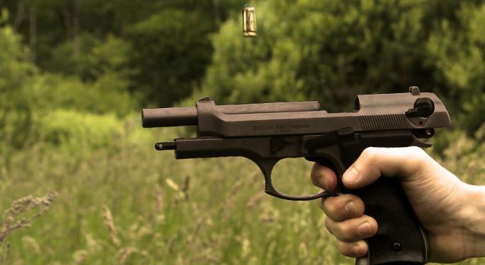 Taser Leading Law Enforcement Stocks Lower