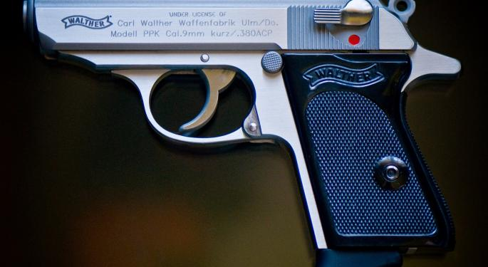 Gun Stocks Rip As March Posts 10th Highest FBI Background Check Figures