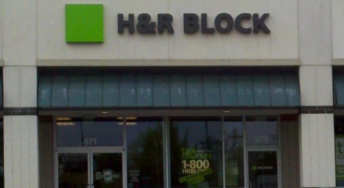 H&R Block Outlook Pays A Penalty For Inconsistent Performance
