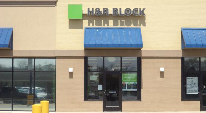 H&R Block Shares Downgraded To Sell At BTIG