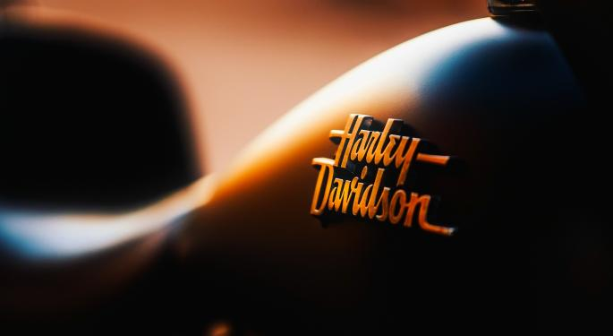 Why Harley-Davidson's Stock Is Trading Lower Today