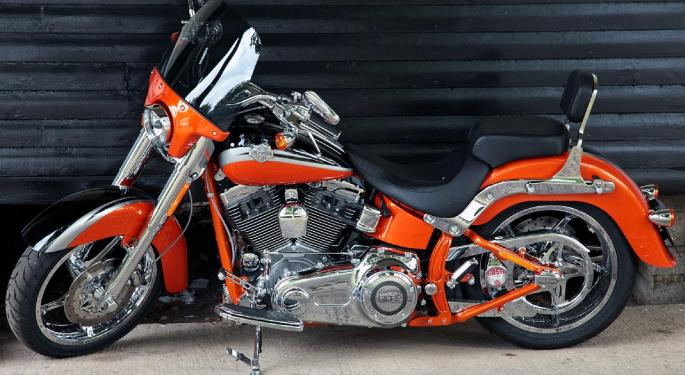 Longbow's Dealer Checks Suggest Harley-Davidson Sales Down 1-3% In May
