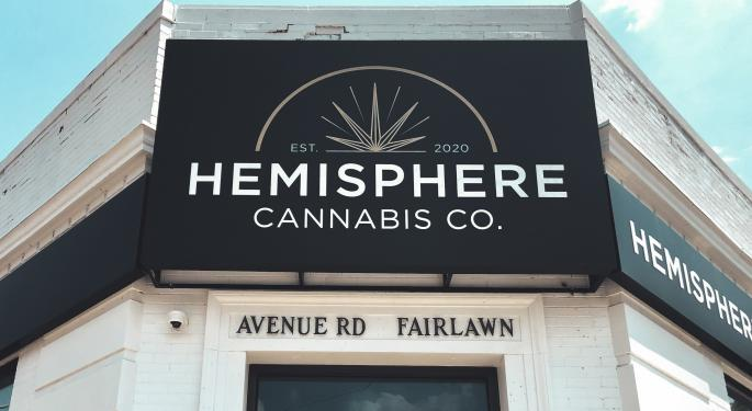 Aegis Brands Opens Hemisphere In Toronto, More Stores Expected In Months To Come