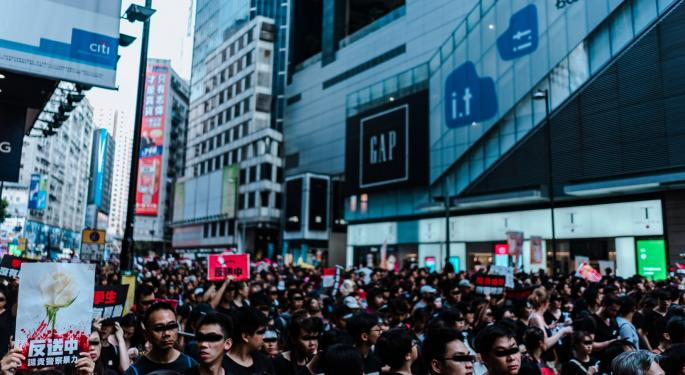 China Punishes US For Supporting Hong Kong
