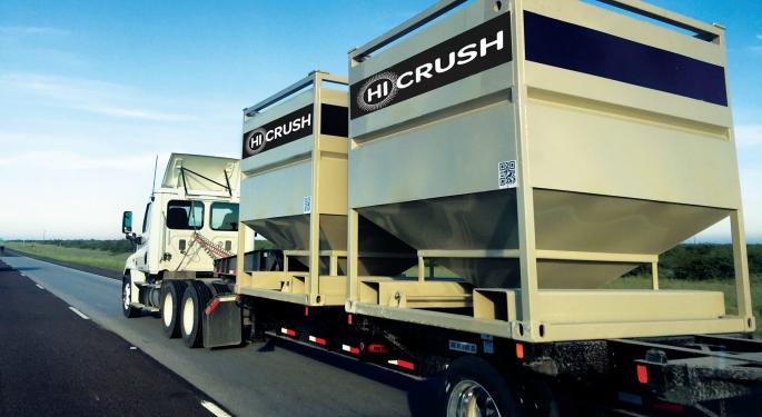 Texas Frac Sand Supplier Hi-Crush Files For Bankruptcy