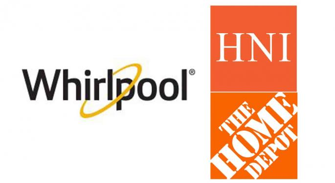 Home Depot, Whirlpool, HNI Earn Top Shipper Of Choice Honors
