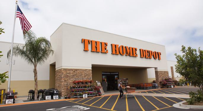 How Much Investing $1,000 In Home Depot Stock 5 Years Ago Would Be Worth Today