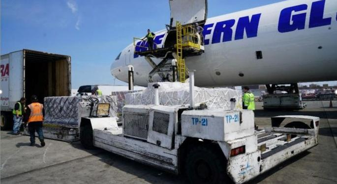 WHO Builds Up COVID-19 Airlift Capacity To Help Africa